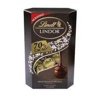 Lindor Bombó cornet cacao 70% 200g