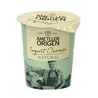 Ametller Yogur cremoso natural 125g