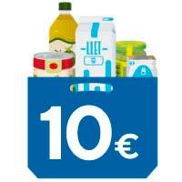 Donació al Banc d'Aliments del lot familiar