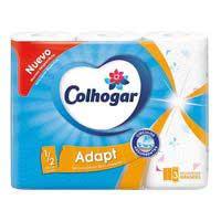 Colhogar Paper de cuina adapt 1/2 full 3u