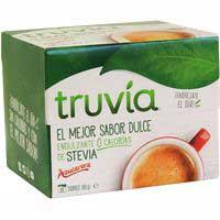 Truvía Endulzante 0% calorías stevia 80g