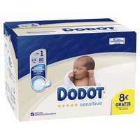 Dodot Bolquers Sensitive T1 2-5kg 80u