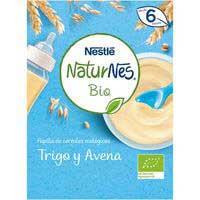 Nestlé Papilla ecológica de cereales trigo y avena 6meses 240g