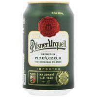 Pilsner Urquell Cerveza lata 33cl