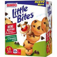 Little Bit Minimuff con pepitas de choco 180g