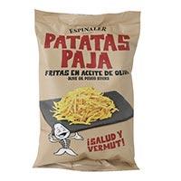 "Patates fregides ""paja"" ESPINALER, borsa 80 g"
