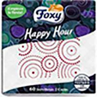Tovalló Happy Hour FOXY, paquet 60 u.
