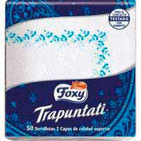 Servilleta TrapuntatiFOXY, paquete50 uds.