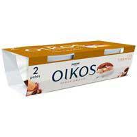 Iogurt grec de tiramisú OIKOS, pack 2x110 g