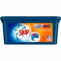 Detergent en càpsules PoderKh7SKIPvUltimate, caixa 22+2 dosi