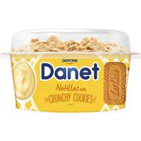 Danet Topper natillas con crunchy cookies 122g