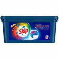 Detergent en càpsules colorSKIPUltimate, caixa 24 dosi