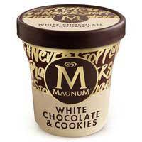 Magnum Tarrina chocolata blan&cooki 300g