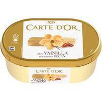 Helado de vainilla-nueces pecan CARTE D'OR, tarrina 410 g