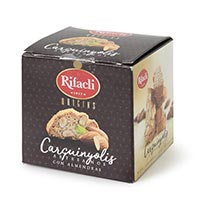 Carquiñoli artesano almendra RIFACLI, caja 150 g
