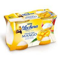 La Lechera Yogurt natural con mango 2x125g
