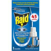 Raid Insecticida electric liquido re 1u