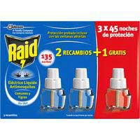 Raid Insecticida electric liquido re 3u