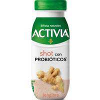 Activia bífidus Iogurt líquid shot amb gingebre 80g
