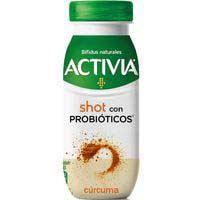 Activia bífidus Yogurt líquido shot con cúrcuma  80g