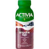 Activia bífidus Yogurt líquido fresa y frambuesa 250g