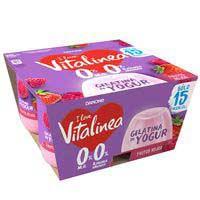 Vitalinea Gelatina de yogur sabor frutos rojos 480g