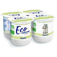 Danone Iogurt natural ecològic 4x125g