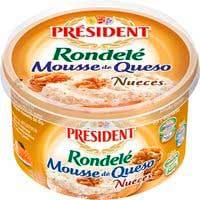 President Mousse de queso y nueces 125g