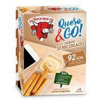 La Vaca Que Ríe Formatge & go semicurat 4x35g
