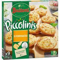 Buitoni Piccolinis 3 quesos 270g