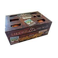 Huevo fresco M/L suelo caja SELECTA, 1/2 docena