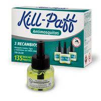 Kill Paff Insecticida antimosquitos recambios 3u