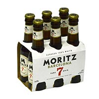 Moritz Cerveza botella 6x20cl