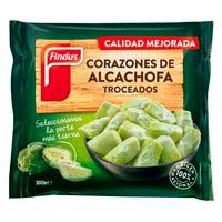 Corazones de alcachofa troceados FINDUS, bolsa 300 g