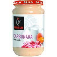 Salsa carbonara GALLO, frasco 330 g