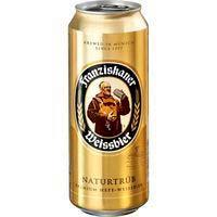 Cerveza alemana FRANZISKANER, lata 50 cl