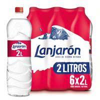 Aigua mineralLANJARON, ampolla 2 litres