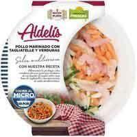 Aldelís Pollastre marinat amb tagliatelle i verdures 340g