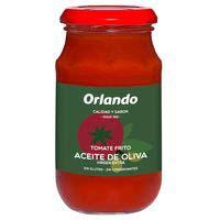 Tomate frito en aceite de oliva ORLANDO, frasco 295 g