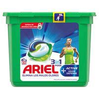 Ariel Detergente cápsula Active 22 dosis