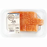 Filets de salmó EROSKI Natur GGN, safata 300 g