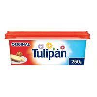 Margarina vegetal sense sal TULIPA, terrina 250 g