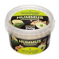 Ensalandia Hummus y guacamole 240g