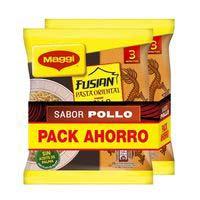 Pasta oriental pollo MAGGI, pack 2x71 g