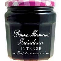 Confitura de arándanos intense BONNE MAMAN, frasco 335 g