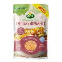 Arla Finello Queso rallado cheddar y mozzarella 150g