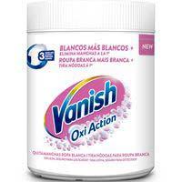 Vanish Llevataques oxy pols blanca 450g