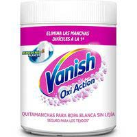 Quitamanchas en polvo ropa blanca VANISH Oxi Action, bote 450 g