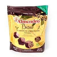 Bites de chocolate 70% EL ALMENDRO, caja 120 g