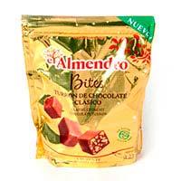 Bites de chocolate con leche EL ALMENDRO, caja 120 g